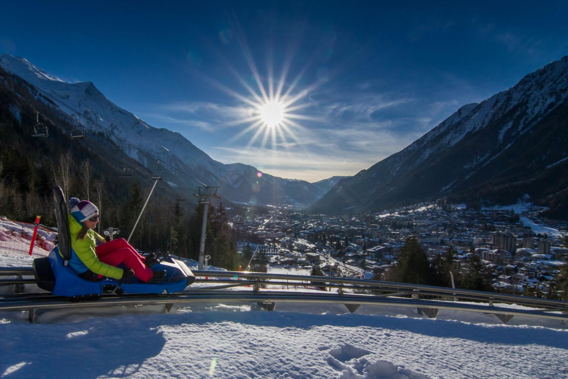 Luge Alpine Coaster Hiver