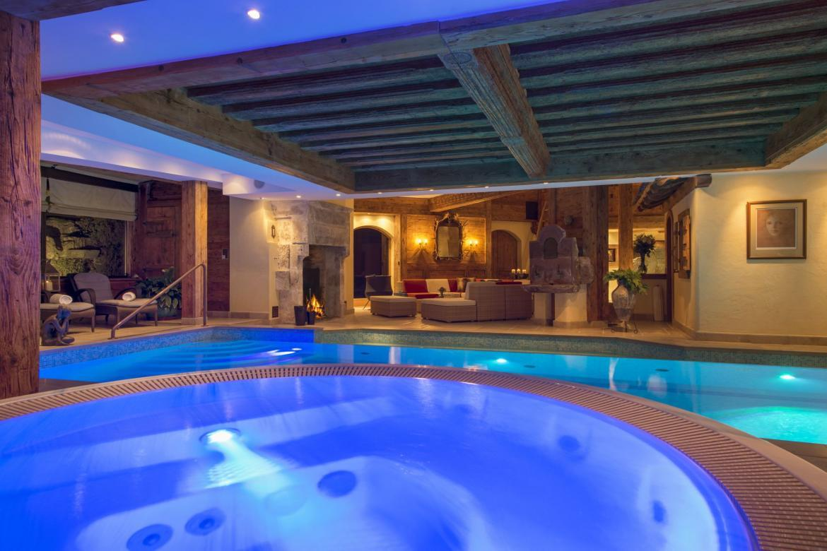Chalet Makini, Unique Chalet, Verbier, Ski, Swimming Pool
