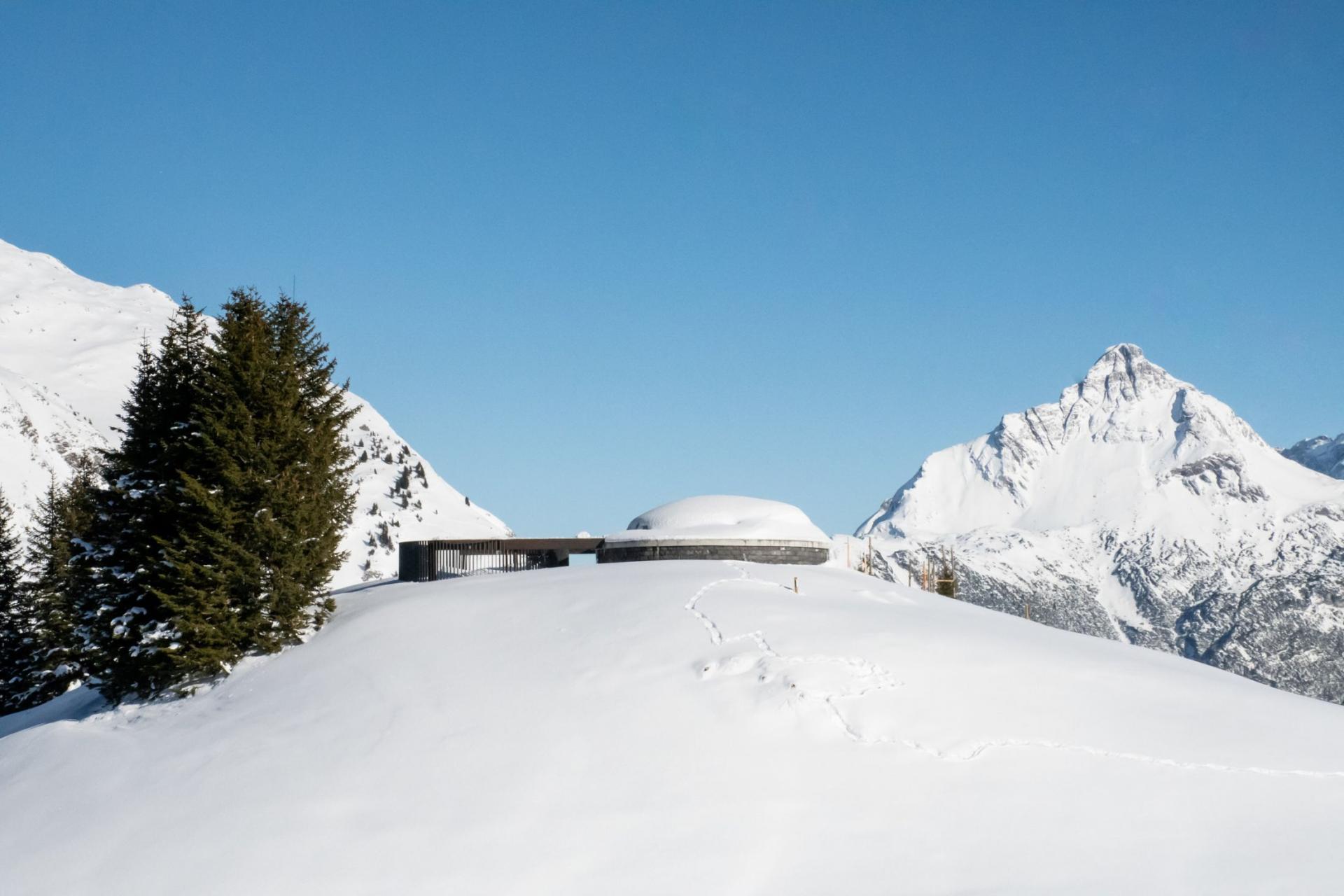 Skyspace in Winter