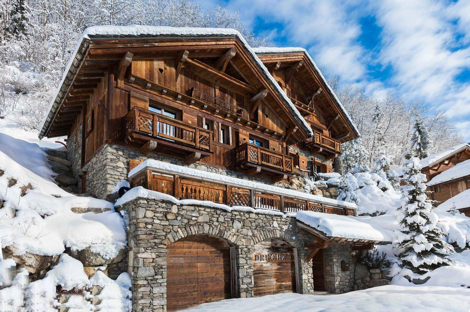Chalet Le Lapin Blanc Meribel chalet druchka | luxury chalet in meribel