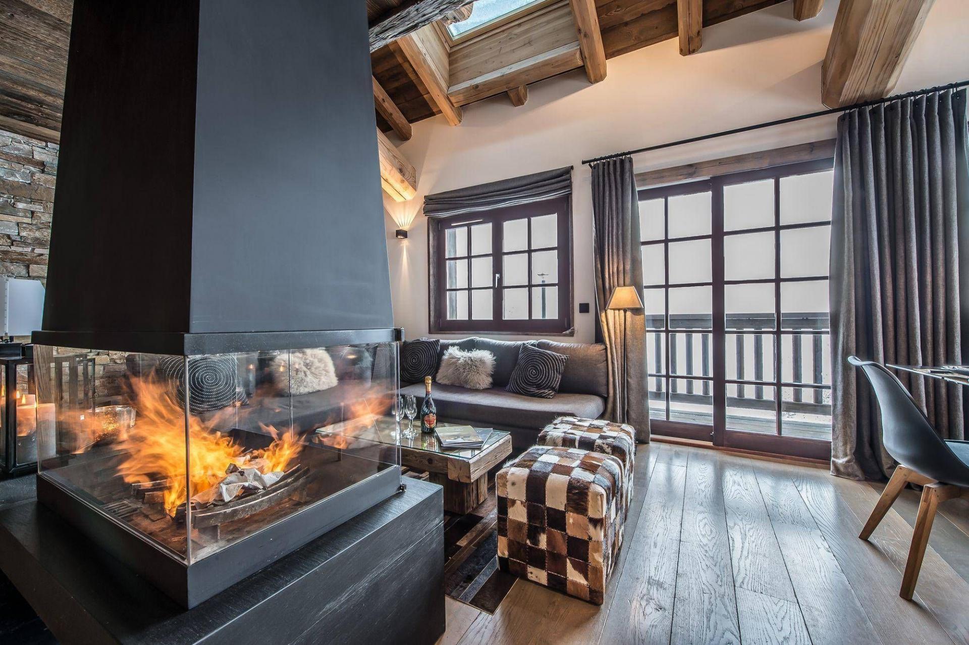 Le Refuge Megeve Architecte chalet le refuge | luxury chalet in meribel