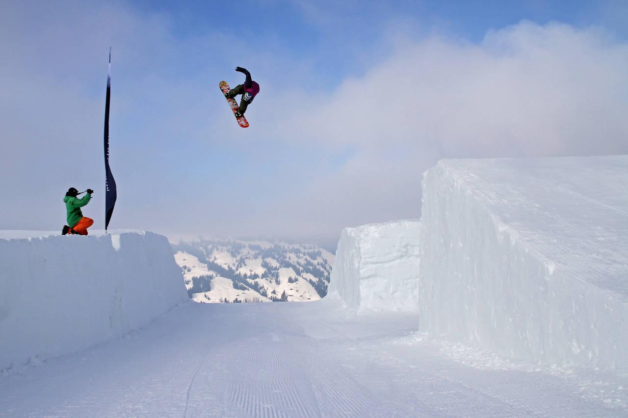 gstaad snowpark