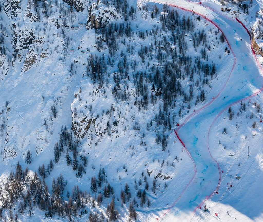 One of Europe's most challenging pistes - La Face in Val dIsere