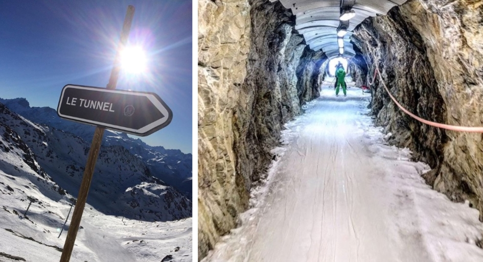 Le Tunnel, Alpe d'Huez - One of Europe's most challenging pistes