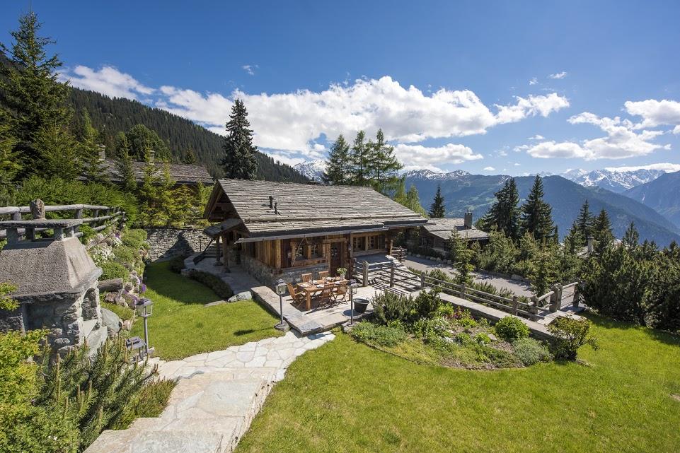 luxury summer chalets in the european alps