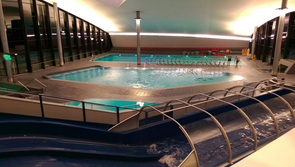 Aquamotion in Courchevel