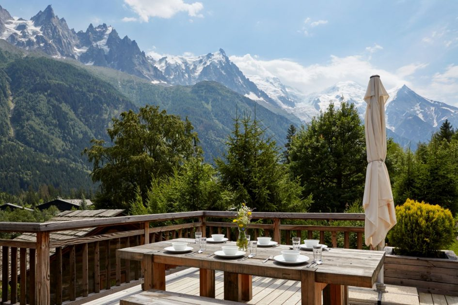 Eco Lodge, Argentiere - View