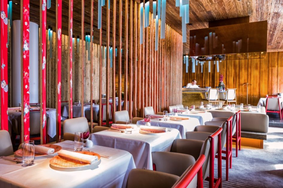 MEGU Restaurant in The Alpina Gstaad