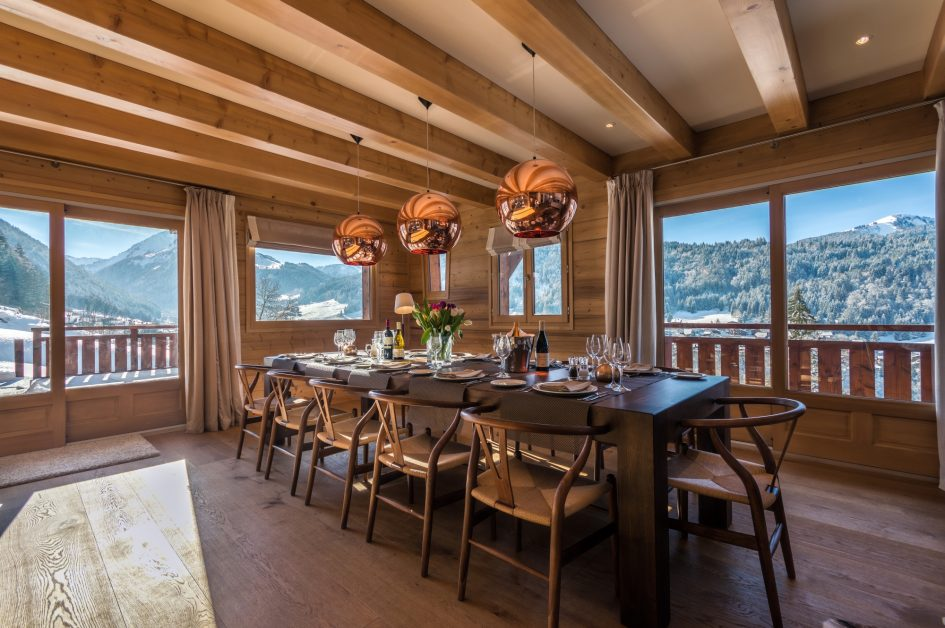 Chalet M, Morzine - Dining Area