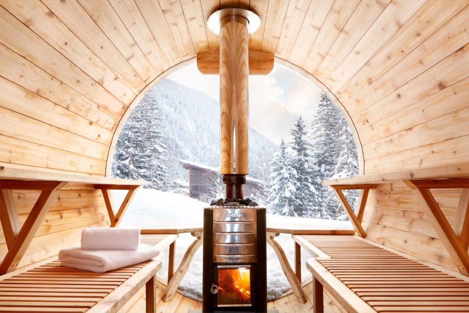 Eco Lodge, Argentiere - External Sauna