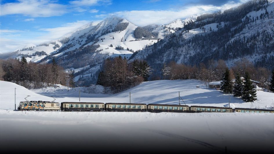 Train to the Alps