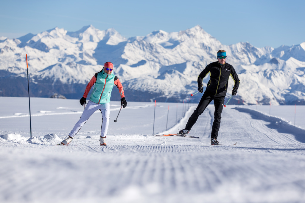 cross-country skiing gstaad, gstaad cross-country, skiing in gstaad