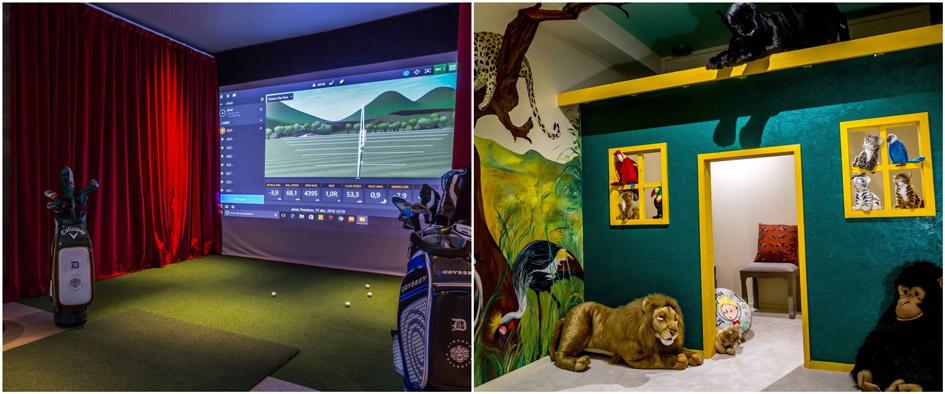Golf-simulator-and-playroom-at-la-datcha-vt