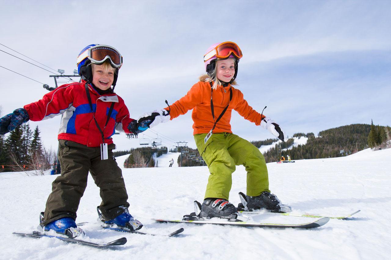 beginner friendly ski chalets, ski chalets for beginners, ski-in ski-out chalets, luxury ski chalets