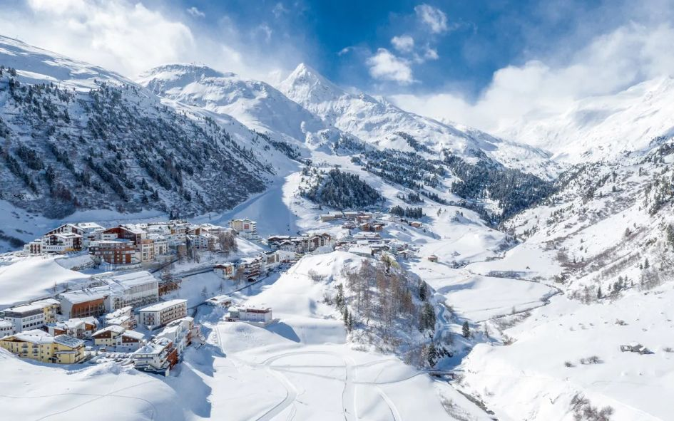 Obergurgl ski resort. Photo credit: Telegraph Travel Ski