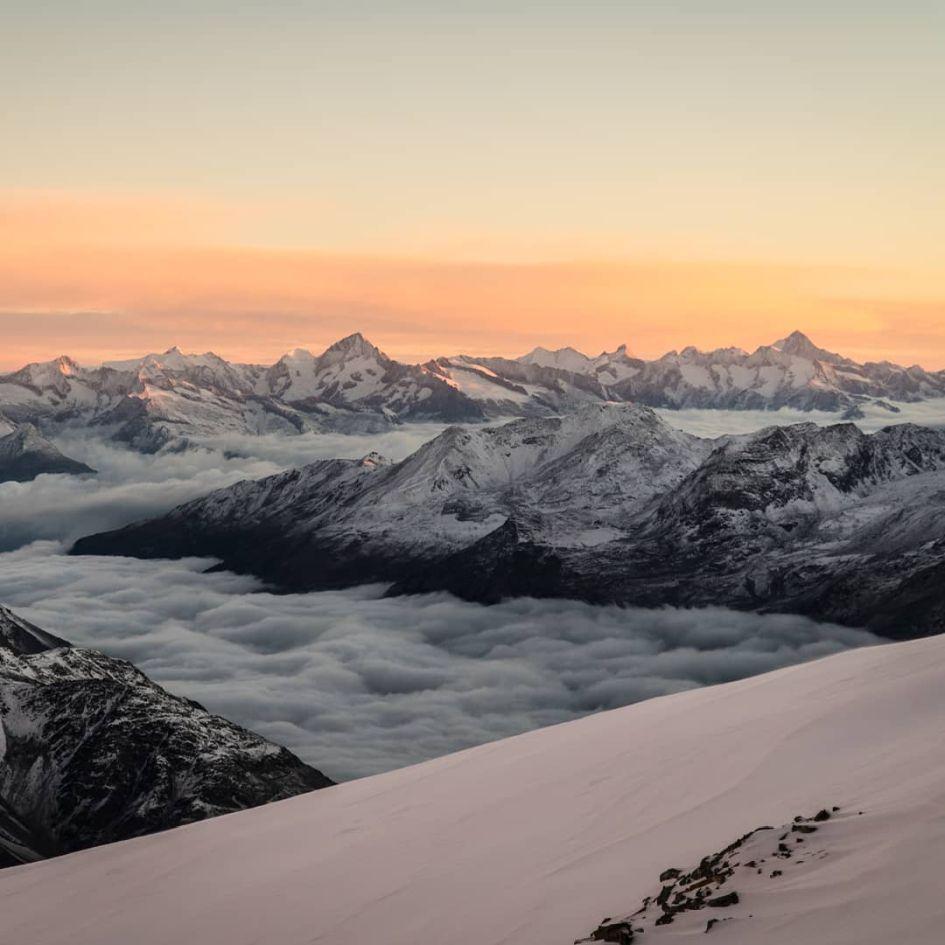Skiing Holiday in Saas Fee (Credit: Instagram)