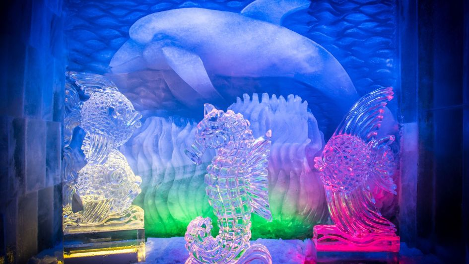 Ice Pavilion Saas Fee (Credit: MySwitzerland.com)