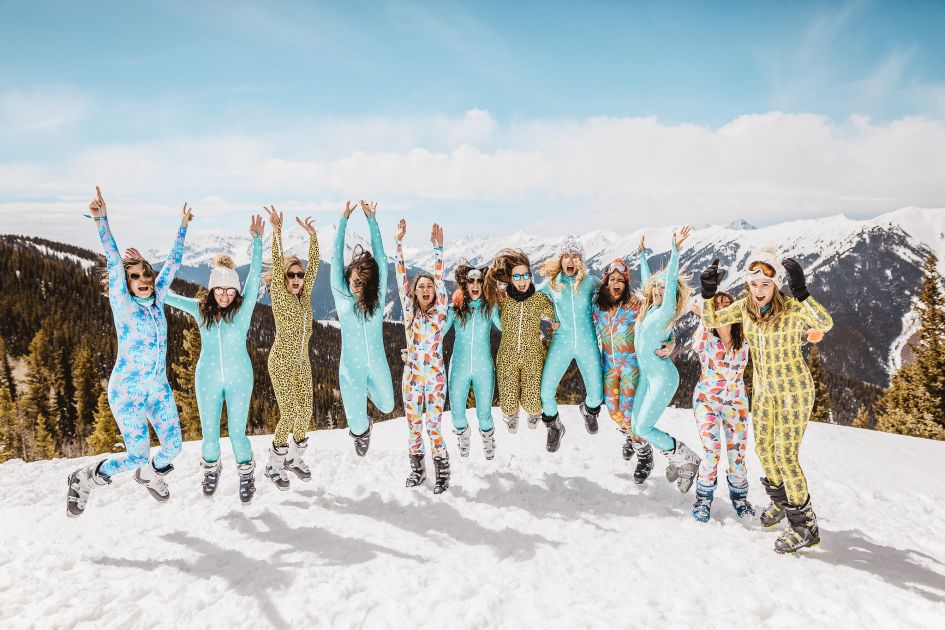 Skiing Hen Party