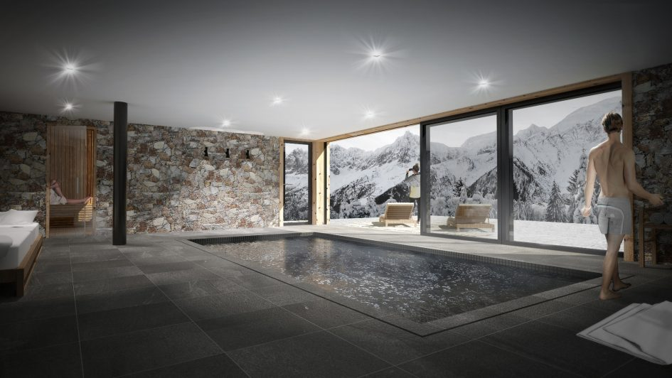 New chalet for 2019 - Le Chalet Mont Blanc, Chamonix
