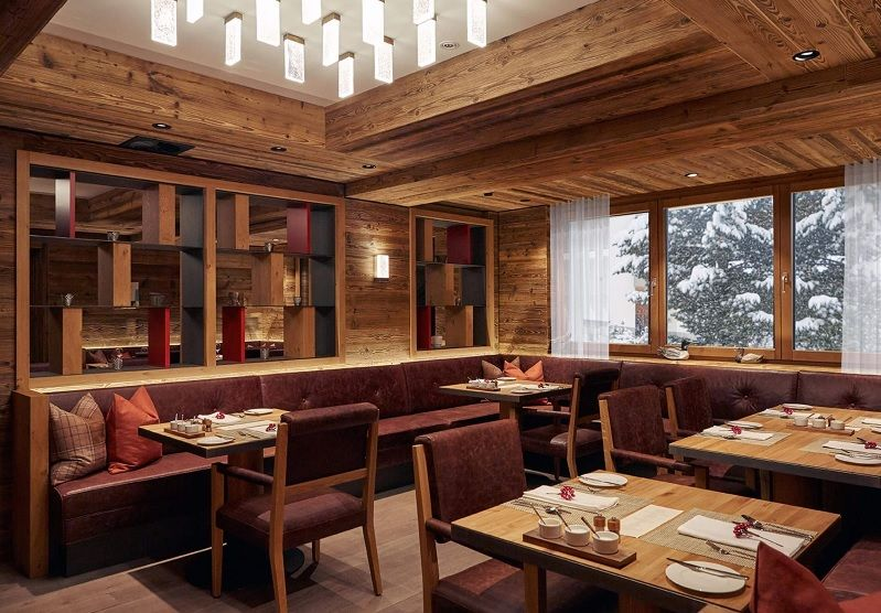 Dining on a skiing Holiday in Saas Fee