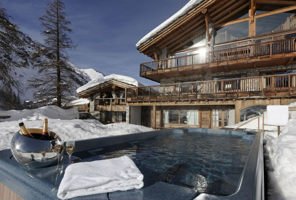 Luxury ski holiday in Chalet Le Chardon, Val d'Isere