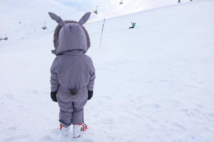 Dinoski Hop - fun ski wear for kids
