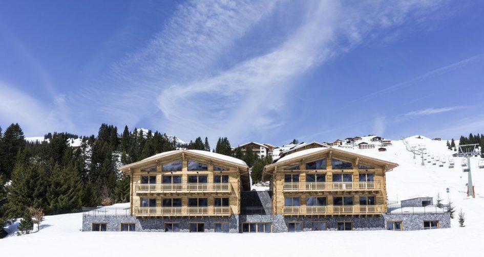 Best new ski chalets - Arula Chalets, Lech
