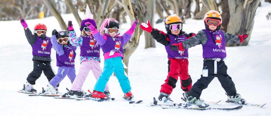 Kids Holiday Skiing