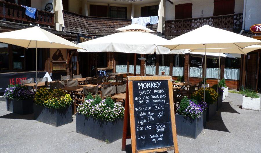 Top Apres in Chamonix - Monkey Bar