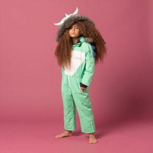 Dinoski Spike fun ski suit for kids