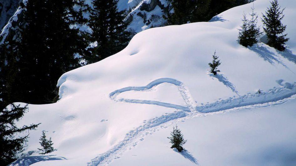Skiing Honeymoon
