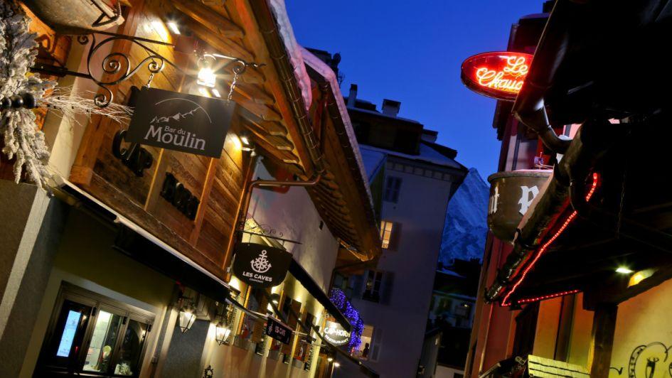 Chamonix apres - Bar du Moulin