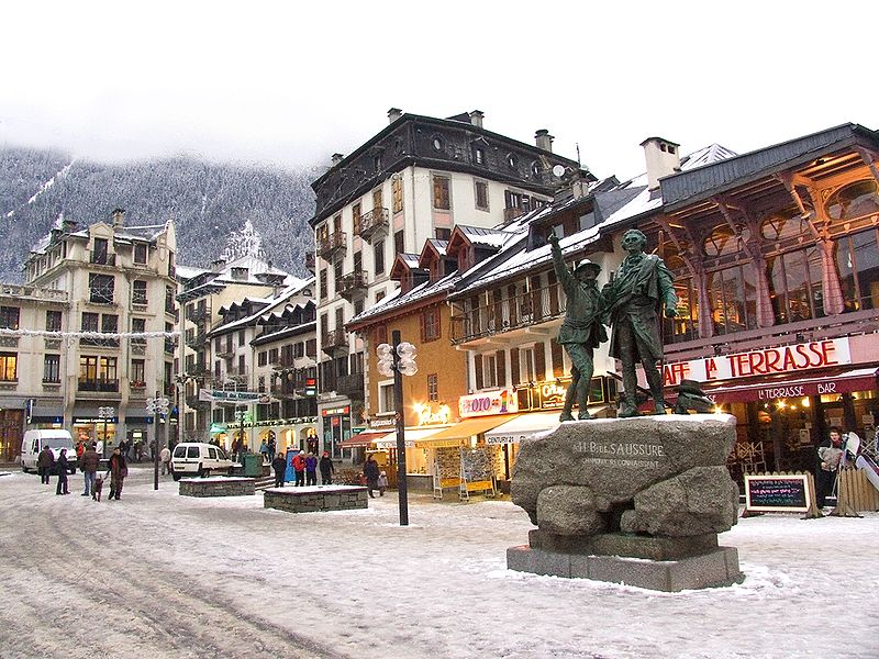 Apres ski in Chamonix