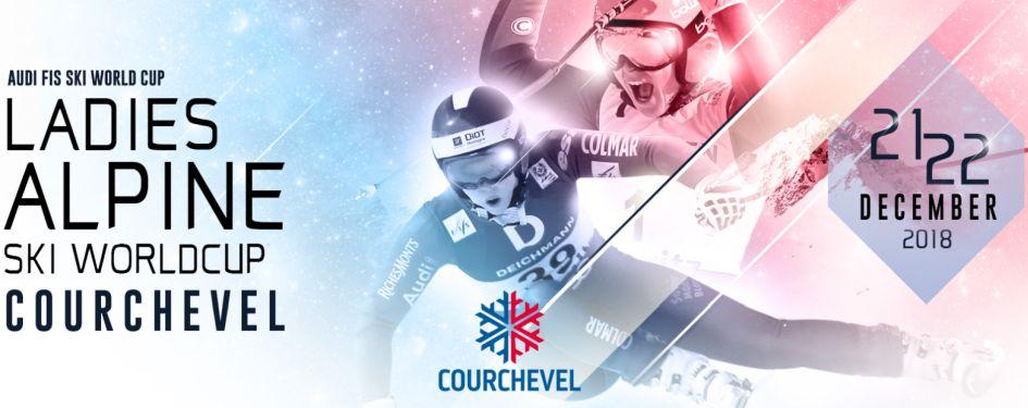 Ski World Cup Event Courchevel