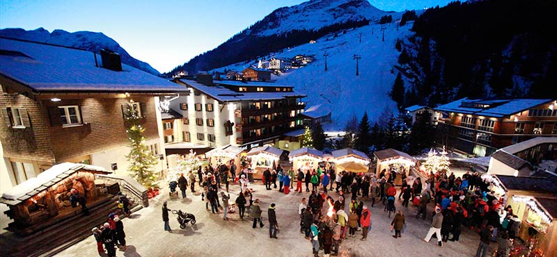 Ski Resorts at Christmas - Lech