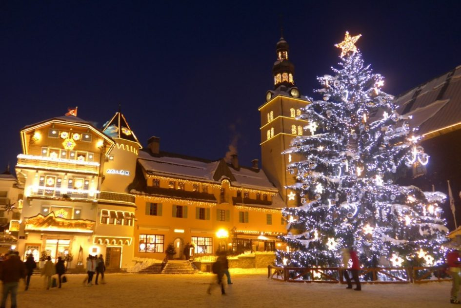 Most Festive Ski Resorts Megeve