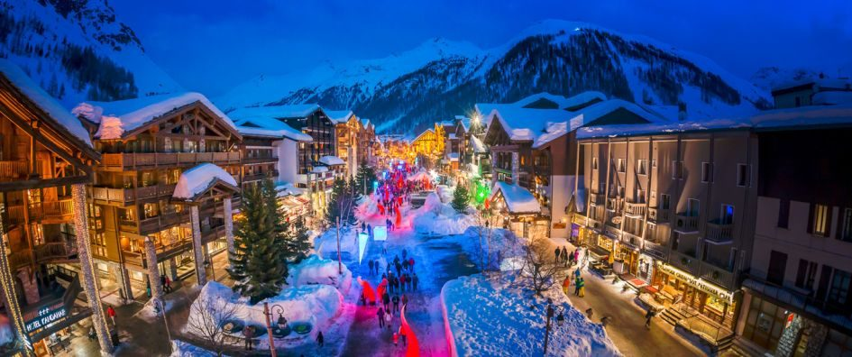 Ski Resorts at Christmas