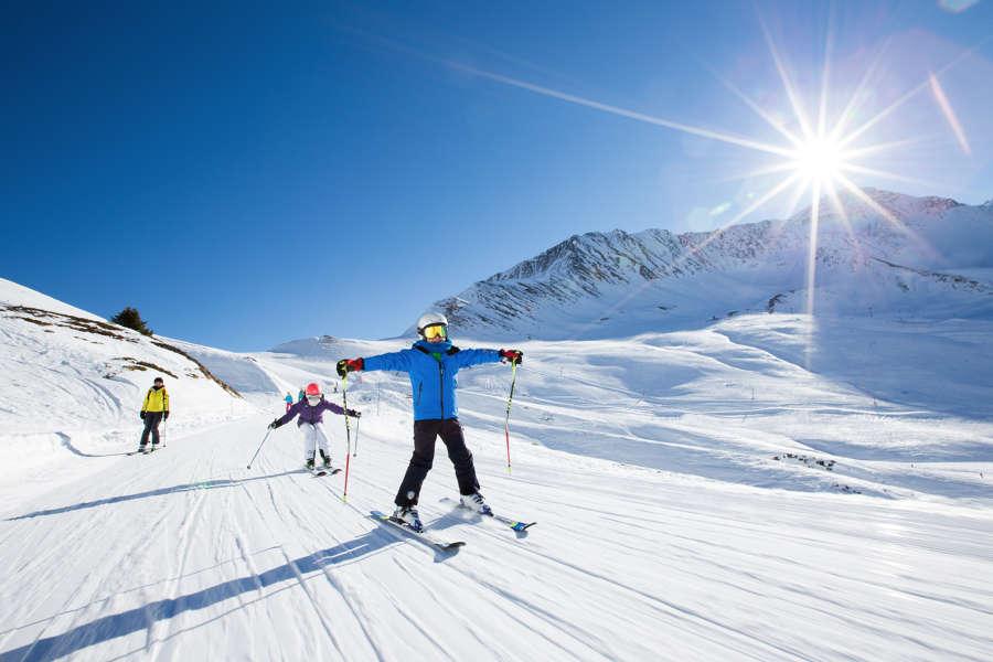 Beginner Skiing In Chamonix