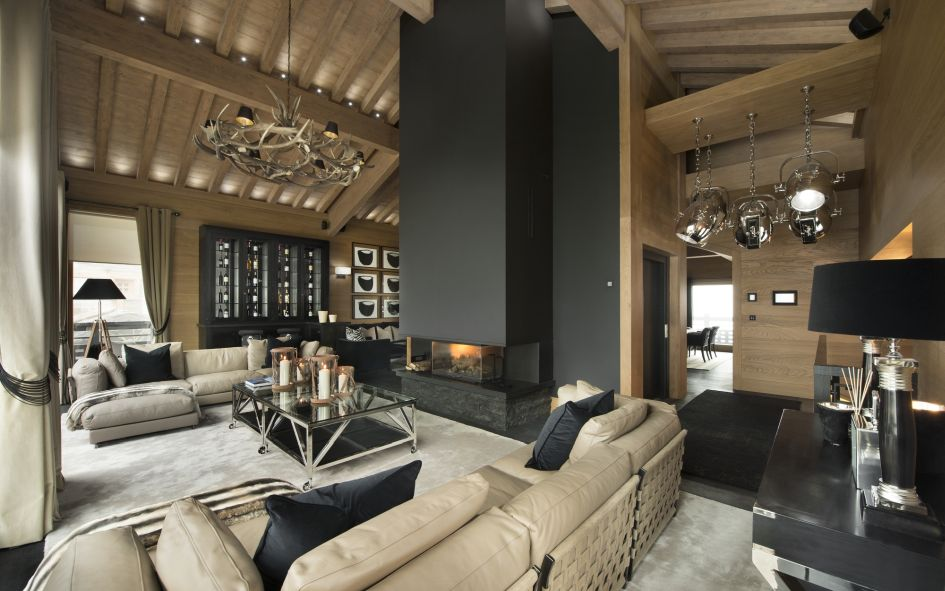 Most stylish ski chalets