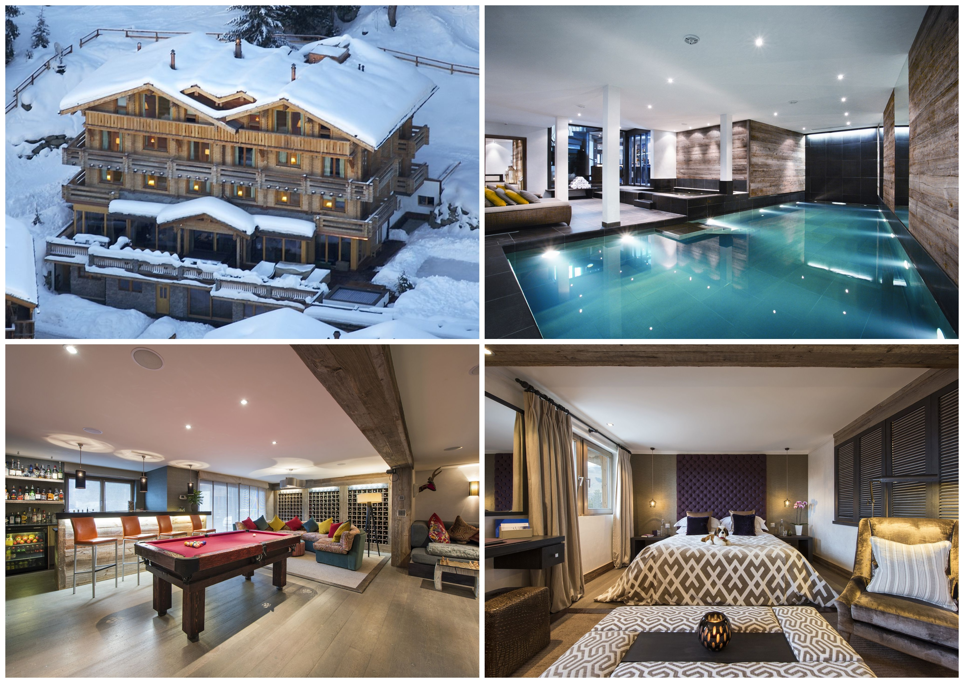 Wedding at The Lodge, wedding in the Alps, luxury chalet for a wedding