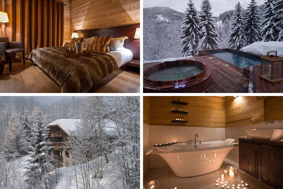 Romantic ski holiday