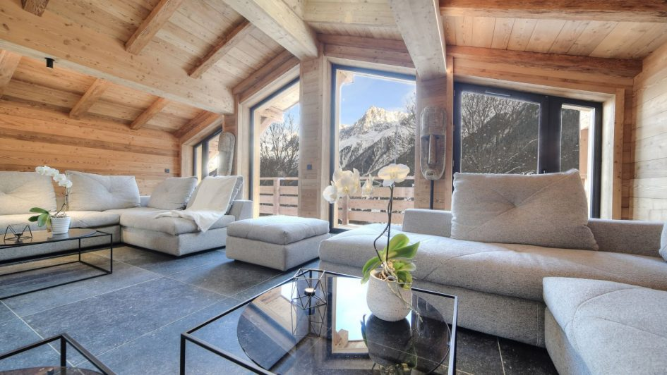 luxury chalets in Chamonix
