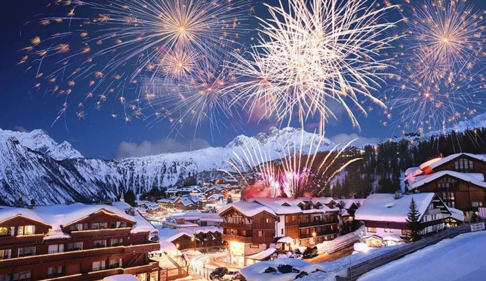 New Year in the Three Valleys