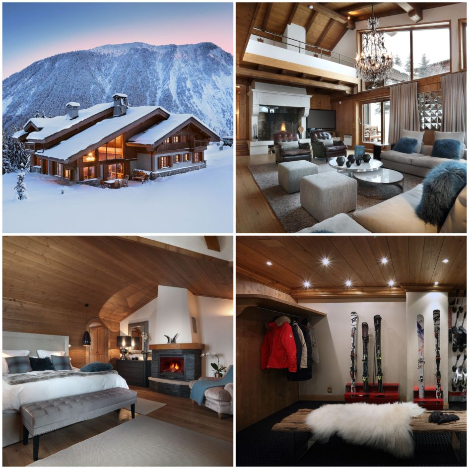 Courchevel, luxury chalet, skiing, holiday