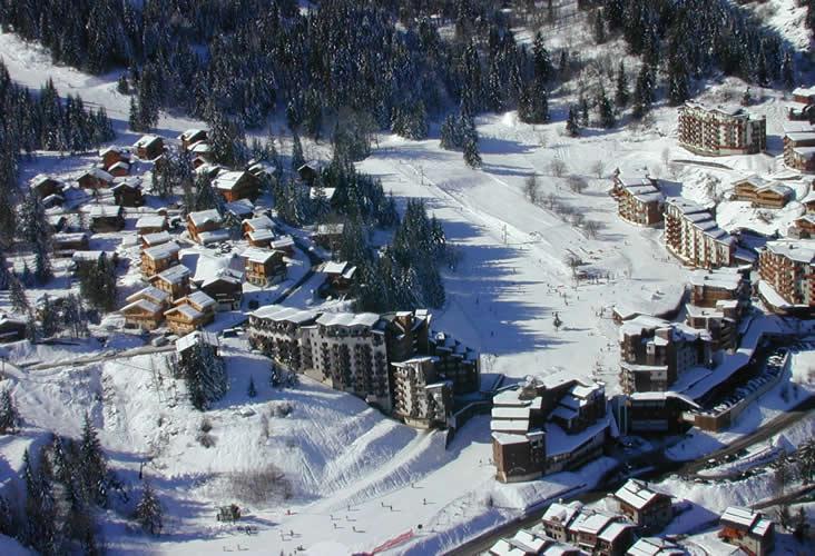 La Tania, Skiing, luxury ski chalet,