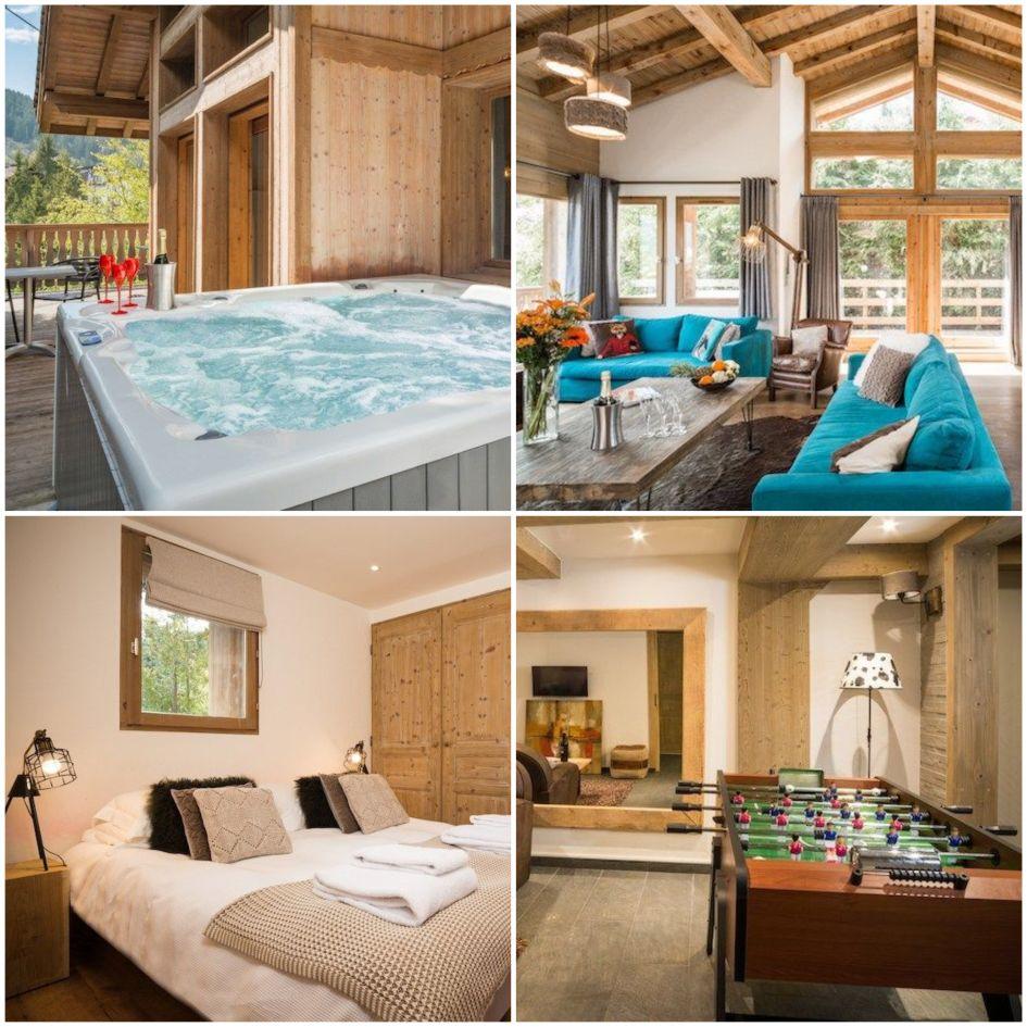 La Tania, luxury ski chalet, ski holiday