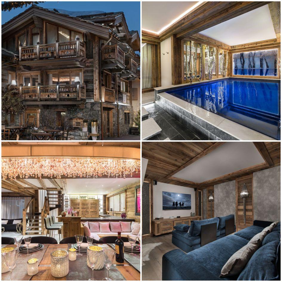 luxury chalet in Courchevel Le Praz, Le Praz luxury chalet, Curchevel Le Praz accommodation