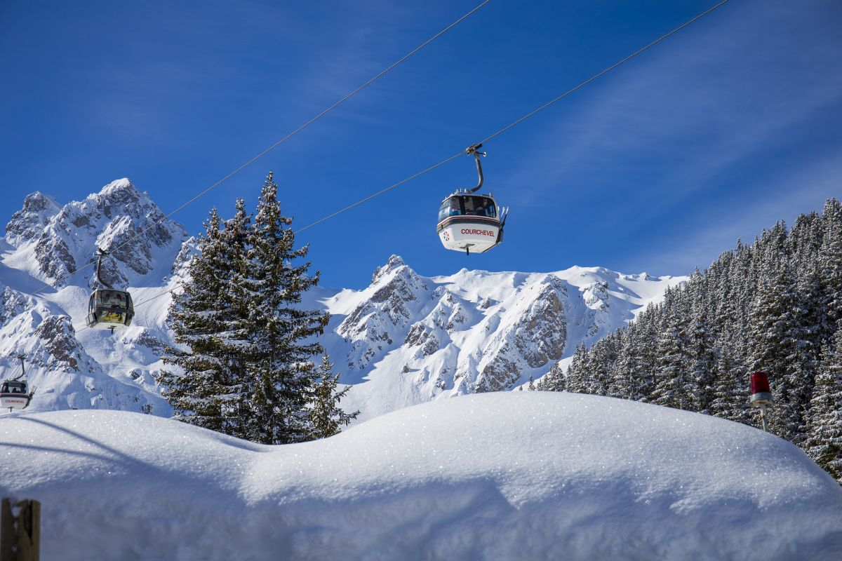 a guide to courchevel, courchevel guide, about courchevel, where to ski in courchevel