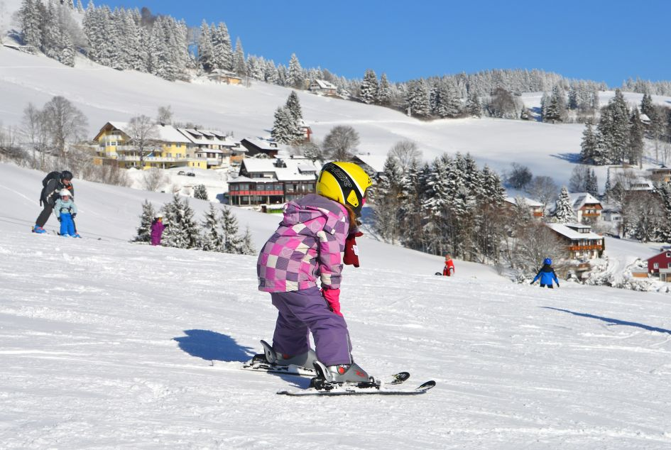top tips for skiing with children