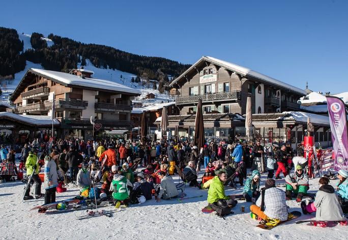 apres ski in les gets, apres ski, bars in les gets